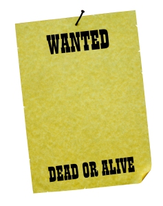 Wanted - Dead or Alive!