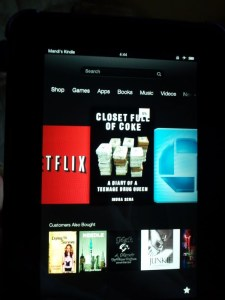My Kindle carousel